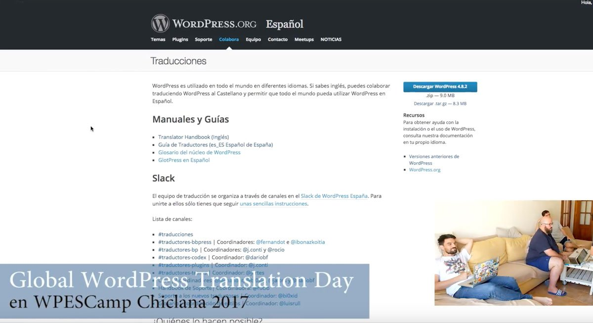 Como traducir WordPress a español
