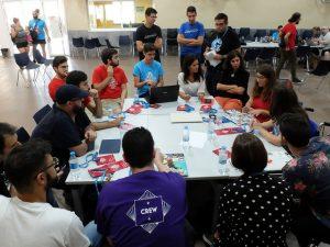 Mesa de comunidad en el Contributor Day