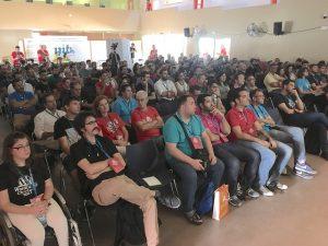 Publico de la tarde en WordCamp Chiclana