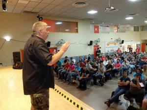 Fernando Tellado en su ponencia de WordCamp Chiclana