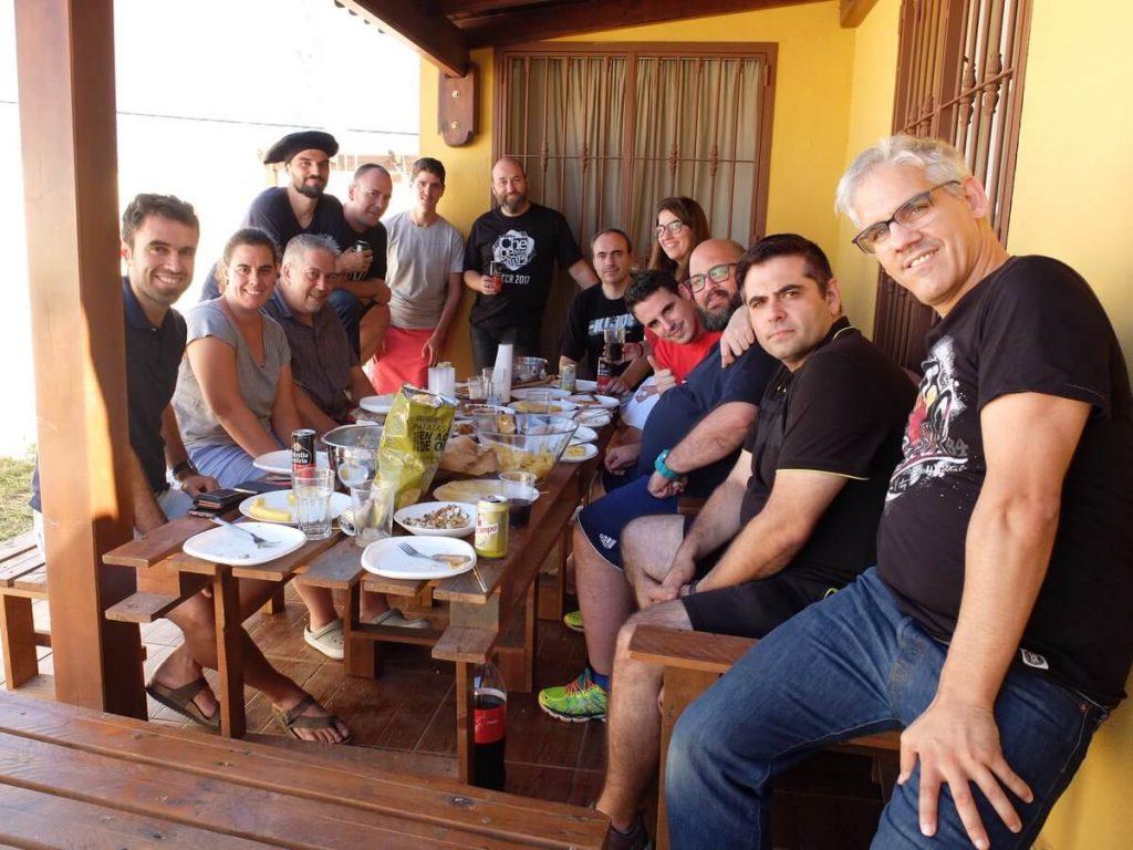 Barbacoa en WPES Camp Chiclana