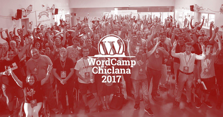 WordCamp Chiclana 2017. Una mirada desde dentro.