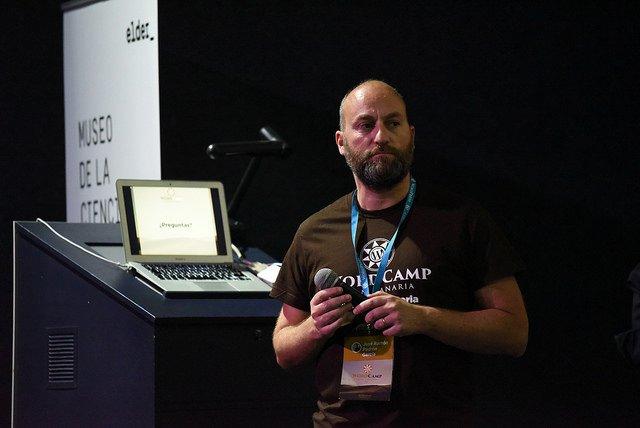 Moncho Padrón organizador WordCamp Gran Canaria