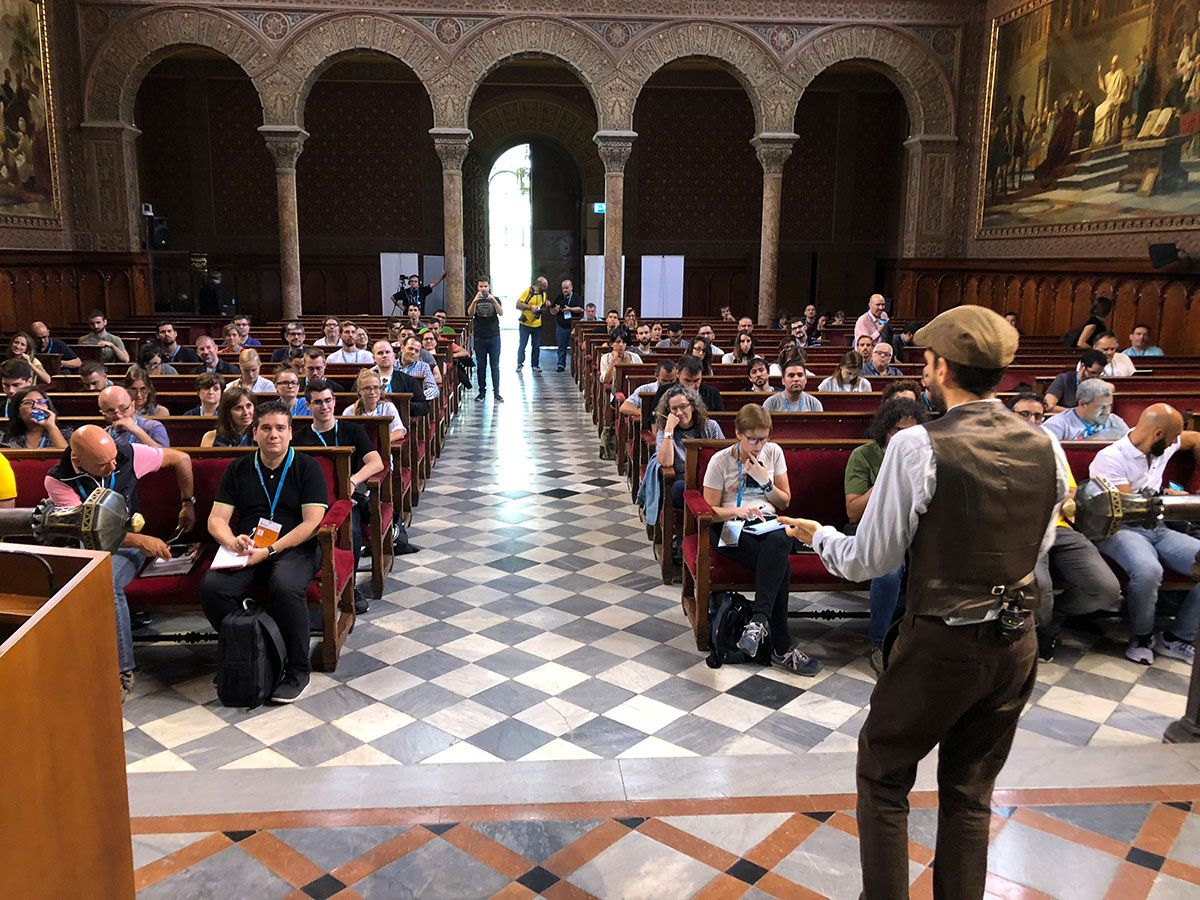Histórica WordCamp Barcelona 2018