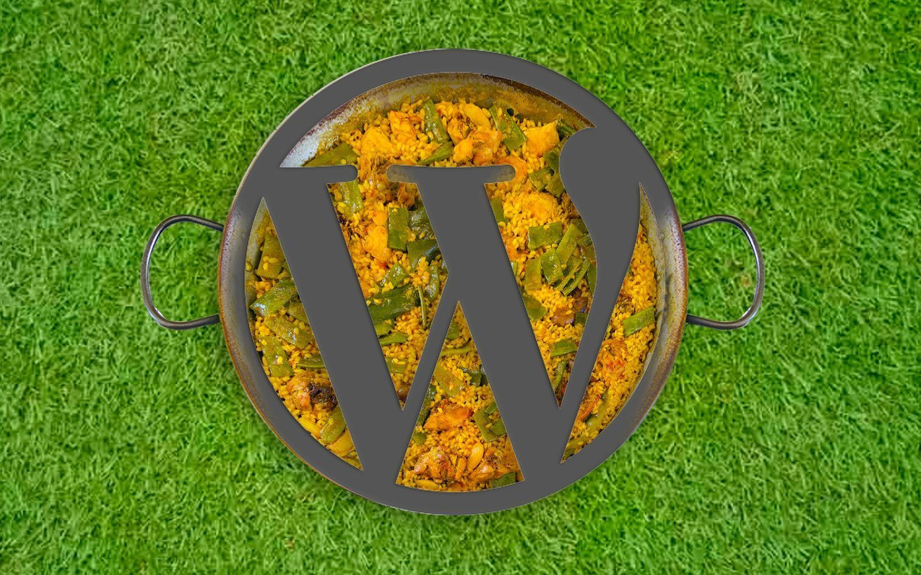 WordPress y paella